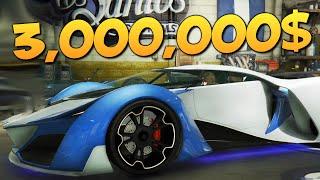 GTA ONLINE - КУПИЛ ТАЧКУ ЗА 3000000$ #269