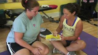 30 Days To Help Yourself - Episode: 7 Amy does a physical assessment of Leigh