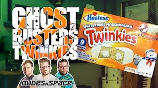 Ghostbusters Twinkies - White Fudge Marshmallow Review - Dudes N Space