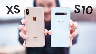 iPhone XS Max vs Galaxy S10+ !