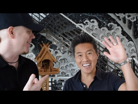 Vern Yip talks about his Hokusai mural in his beach house! - Artisan Rooms