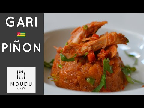 TASTIEST GARI PIÑON RECIPE (TOGO)