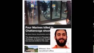 Chattanooga Shooting: 4 Marines killed; Gunman Identified - July 16, 2015 [PICS]