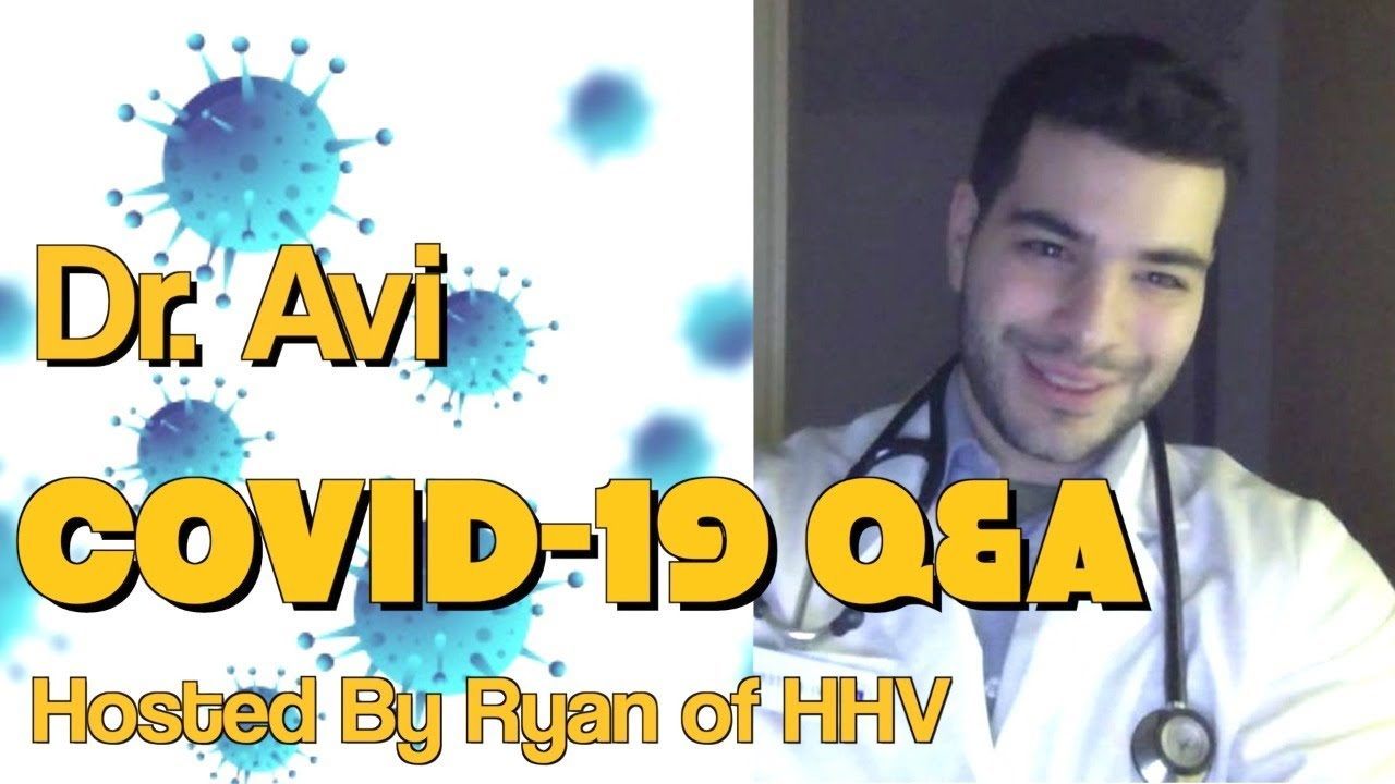 LIVE: Dr. Avi Covid-19 Q&A. Is It Real or Fake?