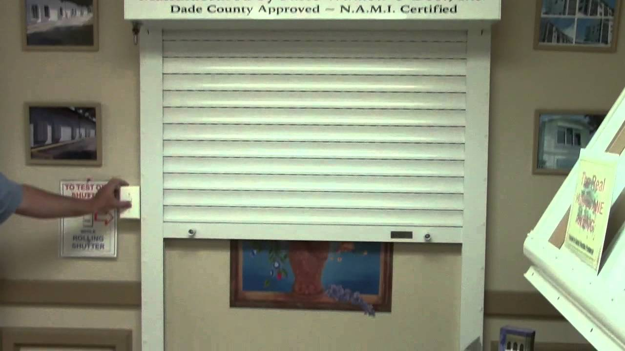 Roll Up Shutter Hurricane Protection Land O 39 Lakes Hernando Pasco County Youtube