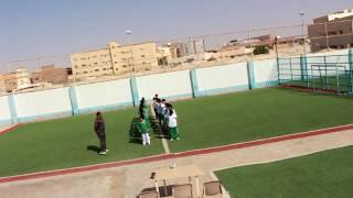 عرض رياضي تقدمه أسرة التربية البدنية لمدارس الرواد الأهلية ببريدة