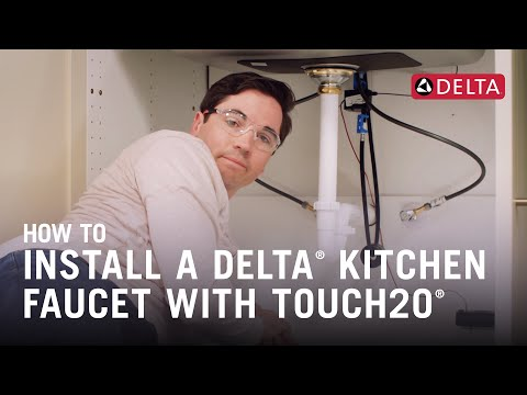 how-to-install-a-delta®-kitchen-faucet-with-touch2o®-technology