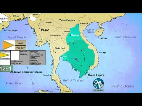 크메르 제국 Khmer Empire (802~1431)