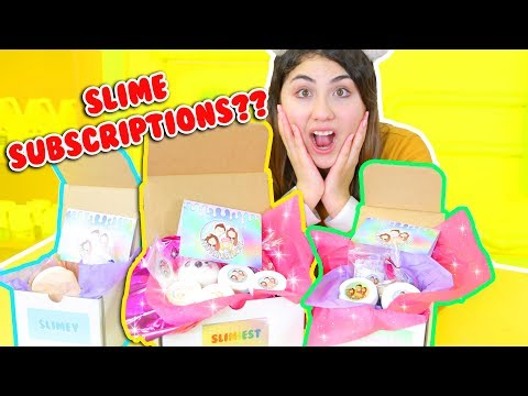 SLIME SUBSCRIPTION BOX + HOW I PACK ETSY ORDERS | Slimeatory #186