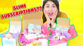 SLIME SUBSCRIPTION BOX + HOW I PACK ETSY ORDERS | Slimeatory #186 thumbnail