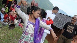गाउँघर का नानीहरुको जोश panche baja bhirkhani gulmi