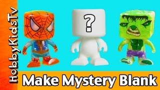 RoseArt Blank Blank Mystery Surprise SpiderMan Hulk Collection HobbyKidsTV