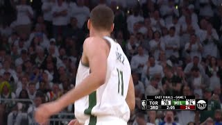 3rd Quarter, One Box Video: Milwaukee Bucks vs. Toronto Raptors