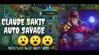 SAVAGE!!! Claude game play and build sakit benar cuk....
