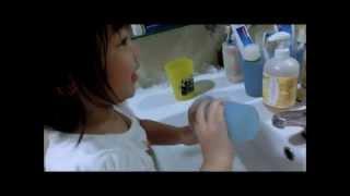 Jasmine 08 - Brushing teeth