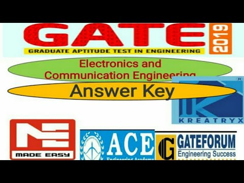 gate 2018 ece answer key gateforum