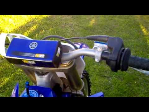 2010 Yamaha YZ250 Start Up