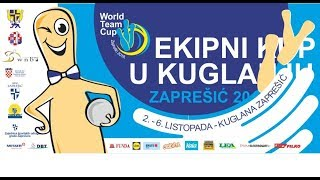 2018 - World Cup - FINAL day matches - Zapresic