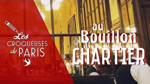 {Vidéo} Les Croqueuses au Bouillon Chartier