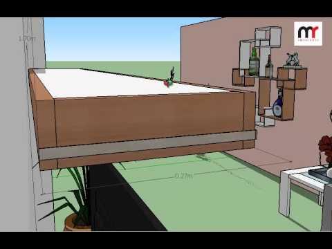 Plano de repisa decorativa de melamina doovi for Software para melamina