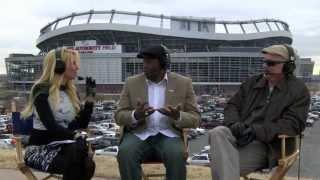 Denver Post Press Box Show - Denver Broncos vs Indianpolis Colts AFC Playoffs