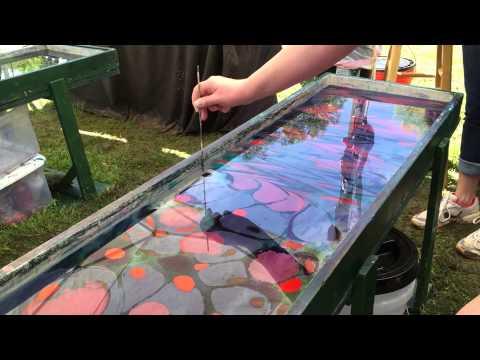 Creating a Silk Scarf Print