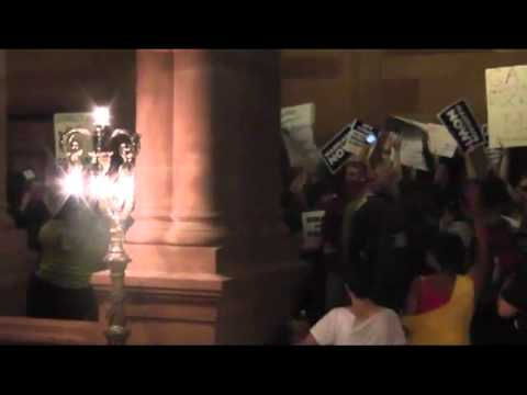New York State Capitol Reacts to Marriage Equality Vote