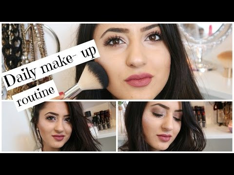Daily make - up routine thumbnail
