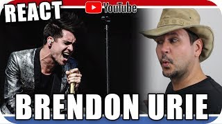 BRENDON URIE - PANIC AT THE DISCO - Marcio Guerra Reagindo React Reação Live Acoustic Music Pop Rock