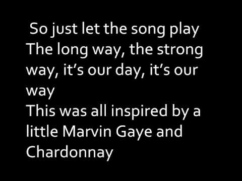 Big Sean - Marvin Gaye and Chardonnay [LYRICS ON SCREEN]
