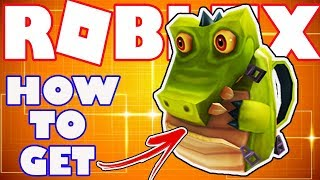 [BONUS ITEM] How To Get the Gator Packpack in Roblox - Bonus Catalog Item for Robux Card Purchase