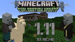 Minecraft 1.11 Полный Обзор - Ламы, Рюкзаки, Поместье