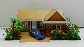 Cardboard House DIY - Easy and Fun Crafts Projects