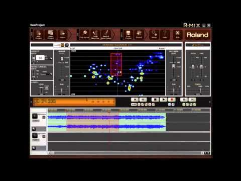 Roland R-Mix - How to create Music Minus 1 track