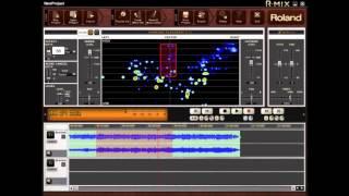 رولان R-خلط - كيفية إنشاء الموسيقى ناقص 1 المسار