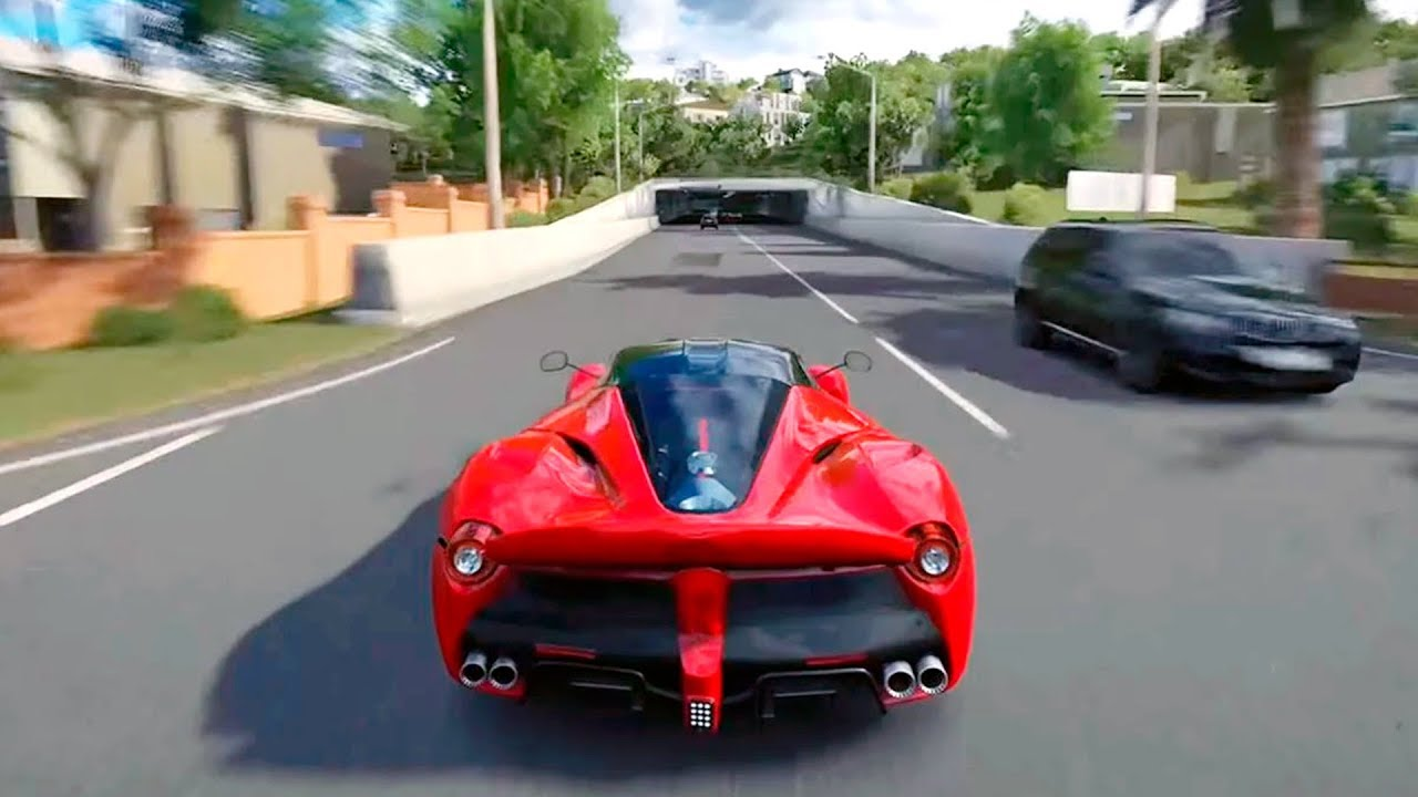 Driving Car Ferrari Game Usa City Driving Gameplay Android Game Car Racing Games Youtube