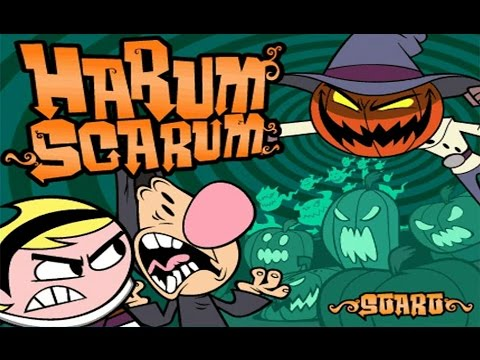 Harum Scarum Online Game by Billy and Mandy