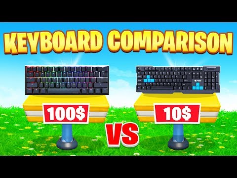 Which Keyboard Should You Buy When Switching From Controller? (Fortnite Battle Royale)