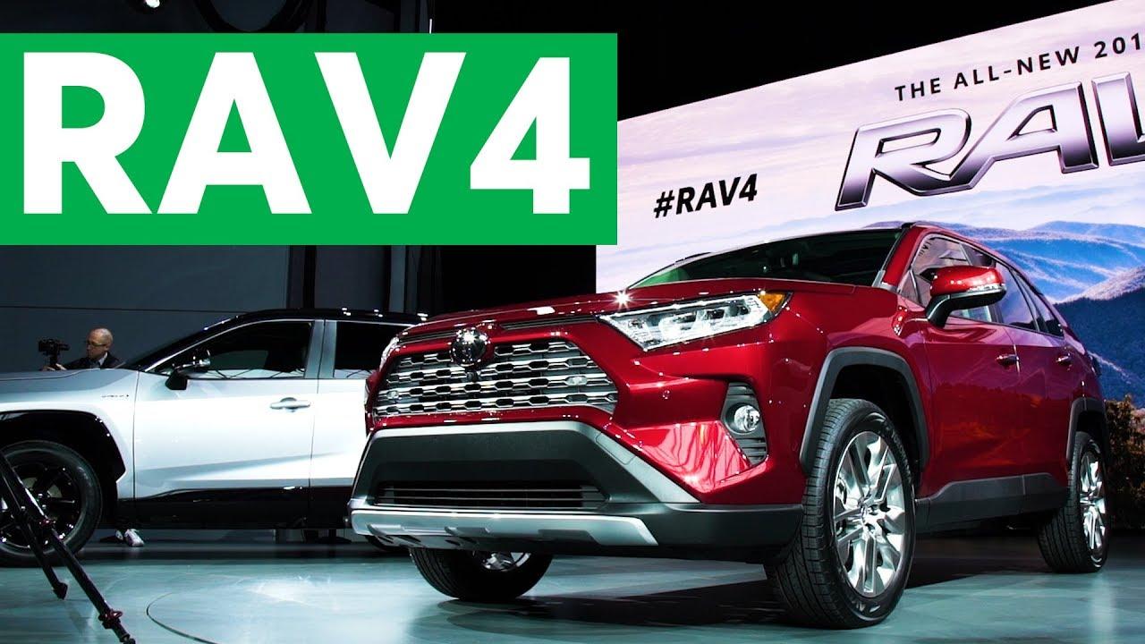 2018 New York Auto Show 2019 Toyota Rav4 Consumer Reports Youtube