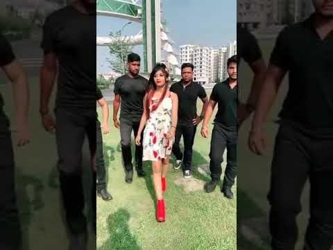 Tiktok New Super Queen Somya Dhaundkar Lasted Musically Team Nawab Pikachu Girls So Amazing