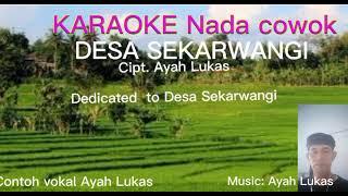 Contoh lagu Desa Sekarwangi direkam dadakan di HP pake aplikasi karaoke recorder. screenshot 3