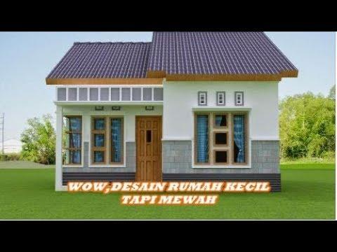 Wow Desain Rumah Kecil Tapi Mewah Terbaru 2018