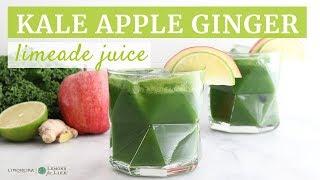 Kale Apple Ginger Limeade Juice   Limoneira