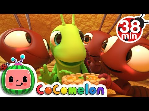 The Ant And The Grasshopper + More Nursery Rhymes & Kids Songs - CoComelon