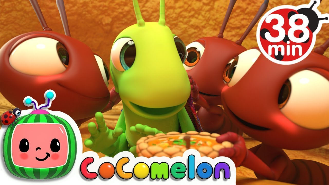 Download The Ant and the Grasshopper + More Nursery Rhymes & Kids Songs - CoComelon