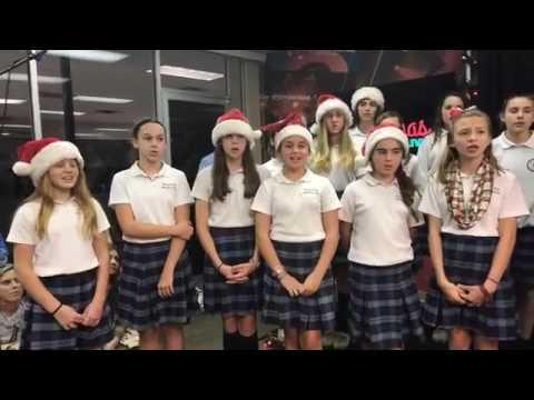 Y102.5 Christmas Events 2021 Coksm 7th And 8th Grade Choir Singing Christmas Carols On Y102 5 Youtube