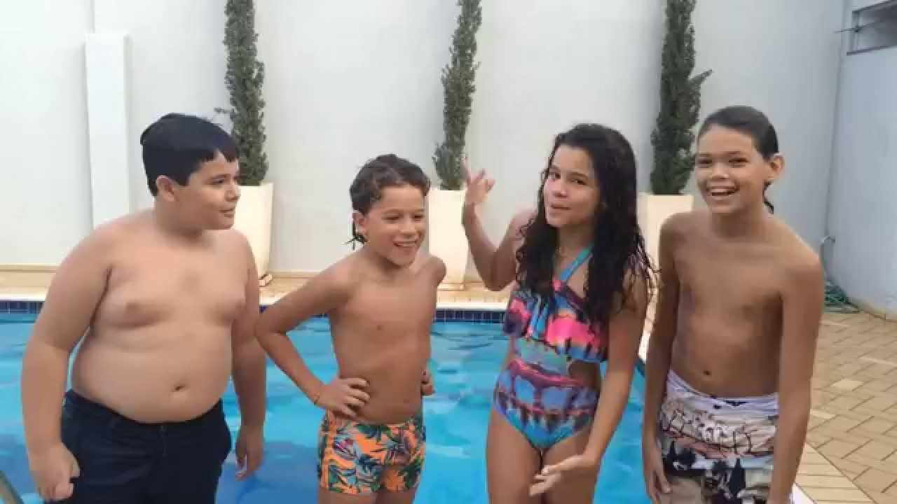Desafio Da Piscina Guigo Saraivah Youtube
