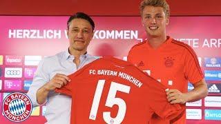 """I want to advance!"" |Presentation of Fiete Arp w/ Niko Kovac | FC Bayern Press Conference"