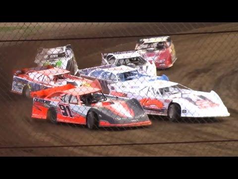 ULMS Super Late Model Heat Three | Mercer Raceway Park | 4-15-17