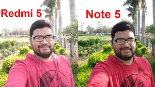 Redmi 5 vs Redmi Note 5 Camera Comparison